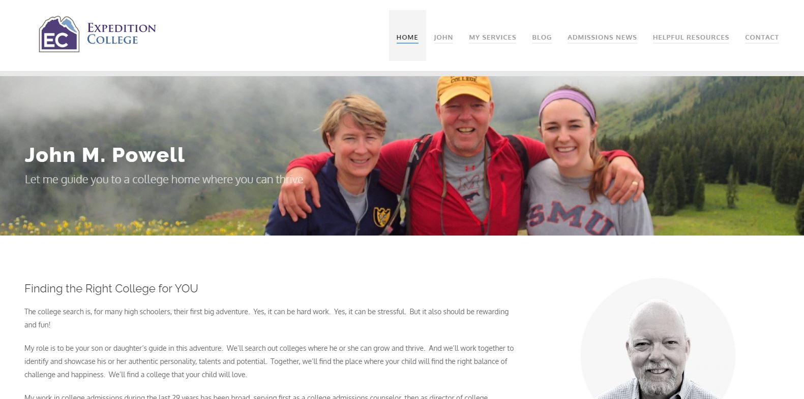 Expedition College Home Page
