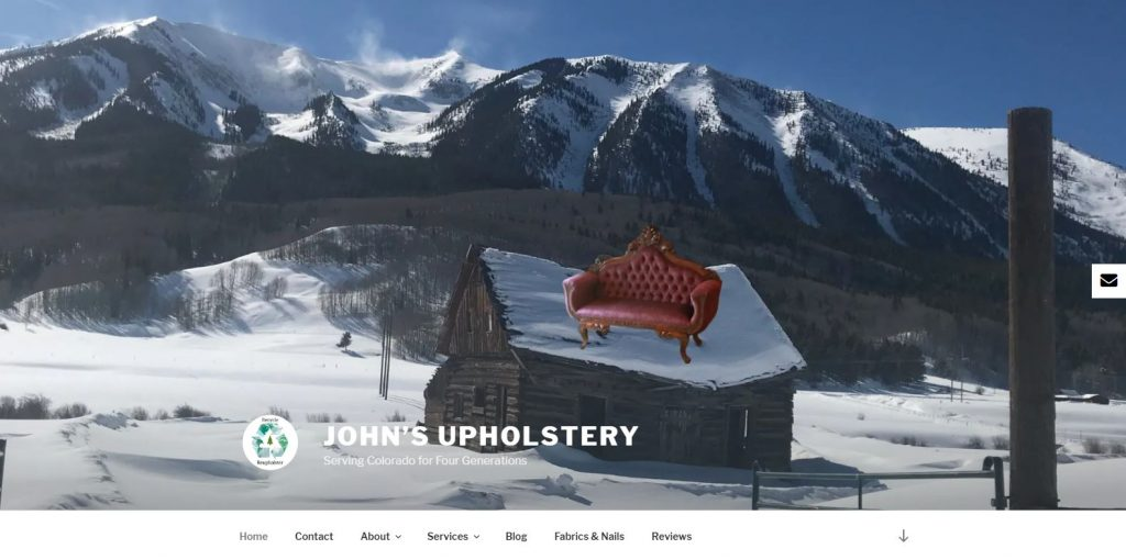 John's Upholstery home page