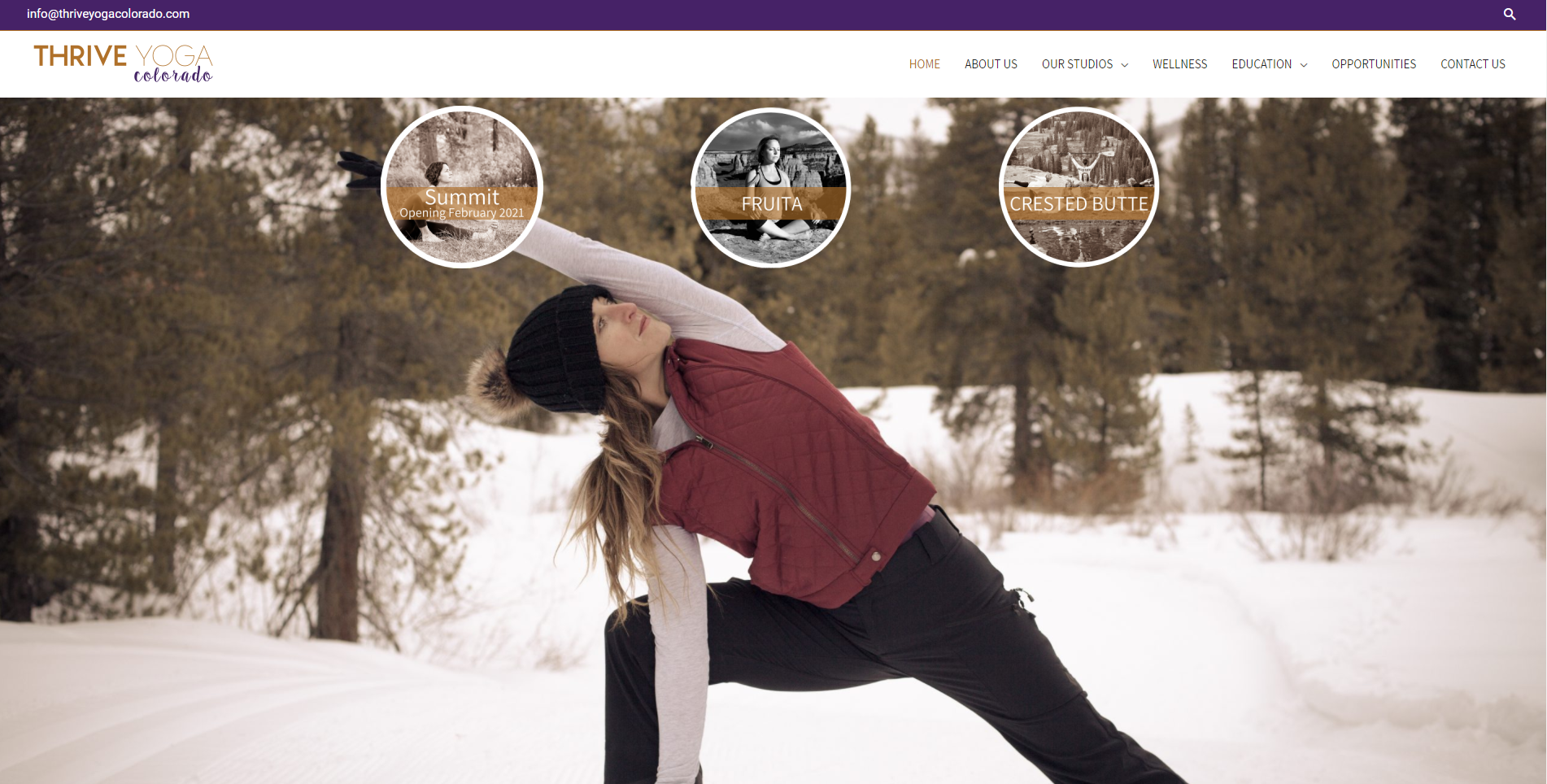 Thrive Yoga Colorado Main Pageeeeee